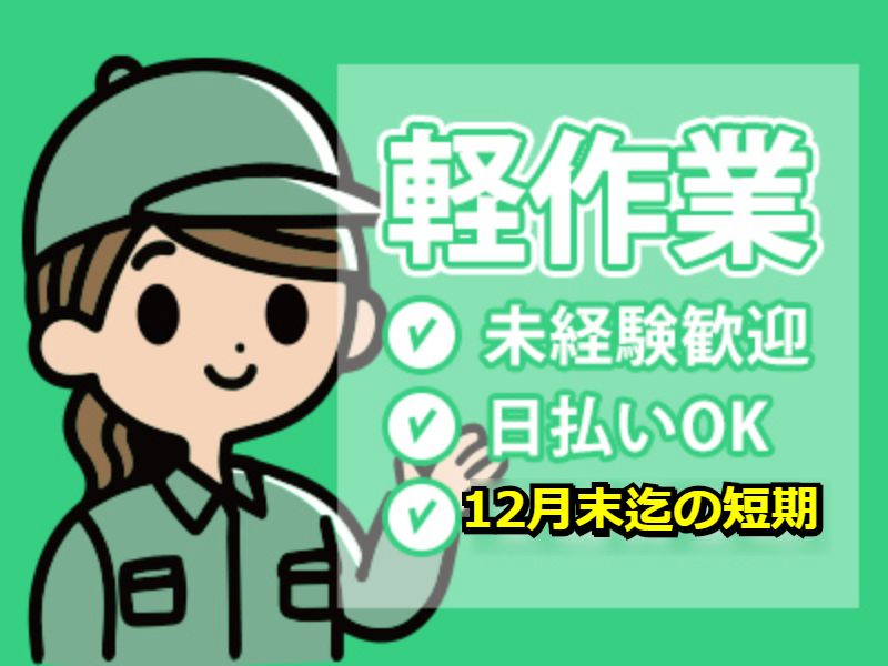 ピッキング(検品・梱包・仕分け)(宅配物の仕分け作業/週3日~/無料駐車場あり)