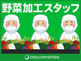 製造業(野菜のトリミング、加工、週5~6、17時~21時、長期)