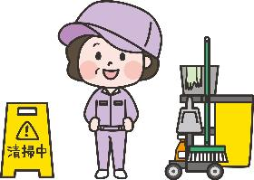 清掃スタッフ(15時までのお仕事、女性が多い職場、ホテルの客室清掃)