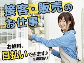携帯販売(家電量販店内での携帯販売/週5日シフト/日払い可(規程有))