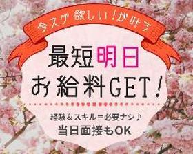 軽作業(お菓子の製造補助/しっかりサポート!週4日~、13時スタート)