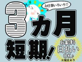 ピッキング(検品・梱包・仕分け)(6時から15時/水日休み/工場/パック詰め/包装/おいらせ町)