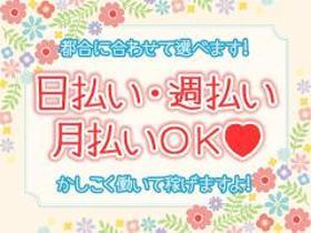 軽作業(レトルト食品をトレーに並べるダケ/9-17時、週5、来社不要)