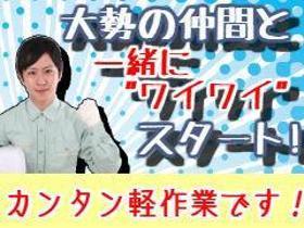 ピッキング(検品・梱包・仕分け)(商品ピッキング/9-18時、週3日~(日曜必須)、髪色自由)