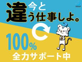 軽作業(商品仕分け/7-16時、時給1250円、日払い、週5日)