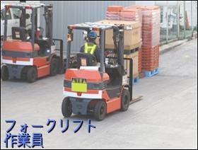 フォークリフト・玉掛け(リーチリフト作業 商品積込等 8時~17時 週5日)