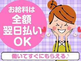 レジ(1ヶ月短期/接客/未経験可/週5/土日あり/日払い)