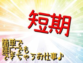 軽作業(短期 9時~16時 週4日OK 商品の仕分け等)