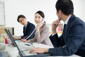 コールセンター・テレオペ(保険会社の書類到着確認・事務/長期/10-19時/週4~)