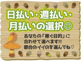 軽作業(スーパーの商品ピッキング/土日含む週3~、18-24時、日払)
