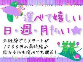 ピッキング(検品・梱包・仕分け)(商品の検品・箱詰め/MAX時給1500/16-25時/日払い)