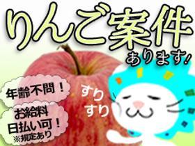 ピッキング(検品・梱包・仕分け)(りんごの箱詰め/2ヶ月短期/シフト相談OK/未経験歓迎)