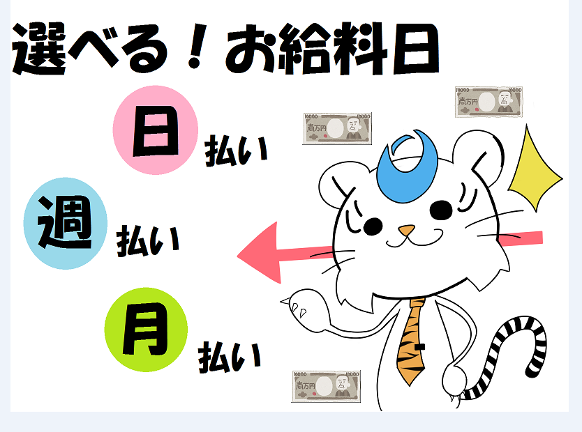 スーパー・デパ地下(スーパーの商品ピッキング/週4日~、9-18時@全額日払い)