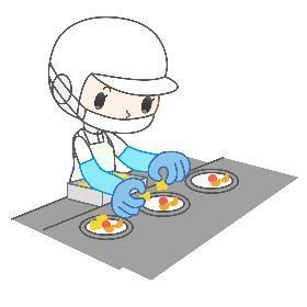 キッチンスタッフ(社員食堂での調理補助、無資格OK、シフト制、車通勤OK)