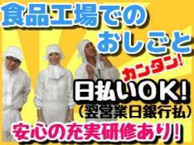 食品製造スタッフ(【日勤/平日のみ】サラミ・カルパスの検査・梱包)