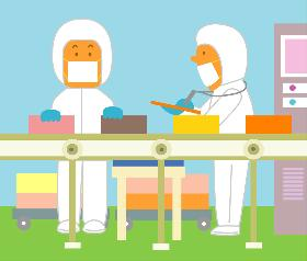 製造スタッフ(組立・加工)(アイスクリーム製造/ライン作業/9月末まで/短期)