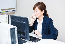 オフィス事務(開始日相談可/時給・手当アップ/官公庁での予約受付・入力)