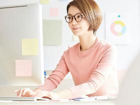 オフィス事務(大阪市西区、医療用医薬品に関する学術資材作成、9~18時)