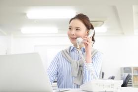 営業事務(電話対応・書類作成 年休125日 平日8:00-17:00)