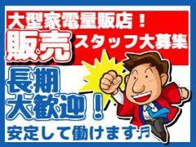 携帯販売(家電量販店/新潟駅近く/土日有週5シフト制/10-19時)