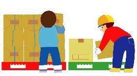 倉庫管理・入出荷(重量物あり/仕分け・運搬作業/男性活躍中)