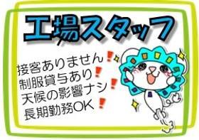 軽作業(製菓工場(加工スタッフ)/23-8時、週5、全額日払い)