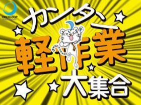 ピッキング(検品・梱包・仕分け)(チョコ検品、梱包/13-22時/シフト希望制/週4日~OK)