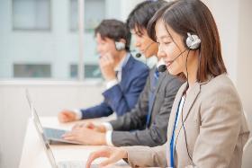 一般事務(インターネットに関する問合せ応対/土日含む週5/9:00~)
