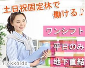 オフィス事務(資料作成・事務処理等のチェック業務◆平日週5、9~18時)