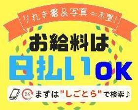 ピッキング(検品・梱包・仕分け)(40代~50代活躍中 13:15開始 週5 残業有 日払い)