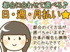 ピッキング(検品・梱包・仕分け)(常温倉庫内での飲料缶のピッキング◆週5日、9~17時)