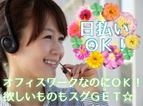 コールセンター・テレオペ(ネット契約者へのフォローコール/週4~/11時-20時)