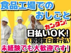 軽作業(惣菜のカット・加工等)