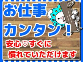 ピッキング(検品・梱包・仕分け)(倉庫内作業/軽作業/週5日/土日祝休み/)