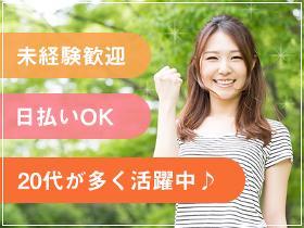 ピッキング(検品・梱包・仕分け)(製造工場の検査・梱包/土日祝休/10:40-19:40/長期)