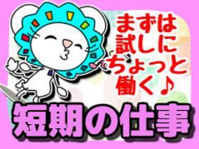 軽作業(ギフト商品の箱詰め/日勤固定/短期)