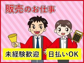 家電販売(未経験OK/週5日/シフト/家電量販店スタッフ/バイトデビュー)