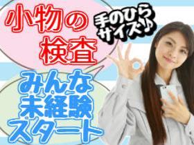 ピッキング(検品・梱包・仕分け)(検査・梱包(4勤2休/2交代制/長期)